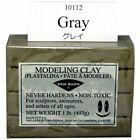 VAN AKEN INTERNATIONAL 10112 PLASTALINA MODELING CLAY GRAY 1LB image