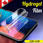For Samsung Galaxy A70 A50 A30 A20 Full Coverage Tempered Glass Screen Protector