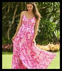 $228 NEW Lilly Pulitzer MELODY MAXI DRESS Coral Reef Tint Flamingle Pink 2