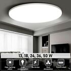 LED Ceiling Light Round Panel Down Lights Bathroom Kitchen Living Room Wall...