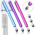 The Friendly Swede Stylus Pen Replaceable Micro-Knit Mesh Tip - Capacitive Touch