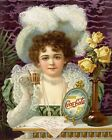 Coca Cola Vintage Poster Collection (15) - Van-Go Paint-By-Number Kit $31.15  on eBay