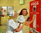 Coca Cola Vintage Poster Collection (29) - Van-Go Paint-By-Number Kit $31.15  on eBay