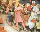 Coca Cola Vintage Poster Collection (36) - Van-Go Paint-By-Number Kit $31.15  on eBay