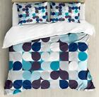 Retro Style Duvet Cover Set Twin Queen King Sizes with Pillow Shams