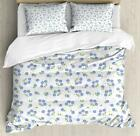 Vintage Pastel Duvet Cover Set Twin Queen King Sizes with Pillow Shams