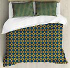 Colorful Oriental Duvet Cover Set Twin Queen King Sizes with Pillow Shams