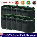 5/10pcs Fabric Plant Pots Grow Bags With Handles 3 5 7 10 15 20 25 Gallon