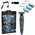 SOLO Rechargeable Trimmer Razor Shaver Edges for Men W/ 3 PCS Combs NEW