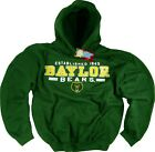 Baylor Bears Hoodie Sweatshirt Authentic University Apparel Officially Licensed