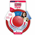 Kong Classic Flyer Red Rubber Dog Toy Frisbee & Extreme Black Tough 3 Sizes