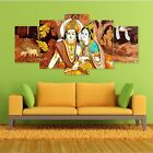 Lord+Krishna+Art+Split+5+Frames+Wall+Panels+for+Living+Room+%23177+-+HKTPIC-AU