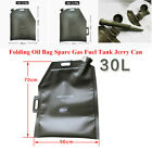 Portable 5/10/20/30L Oil Bag Spare Gas Fuel Petrol Tank Jerry Can Car Motorcycle $59.99 USD on eBay