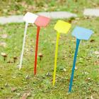 T-type Plastic Yard Plant Labe Stake Plant Nursery Garden Tool Stable Stick D3a0