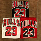 Youth/Men's Michael Jordan #23 Chicago Bulls Sewn Vintage Red/Black/White Jersey on eBay