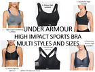 Under Armour Women's High Impact/High Support Sports Bra, Multi Style and Sizes