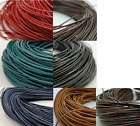 Leather Cord Real String Lace Thong Necklace 1mm Crafts Jewellery Making Round