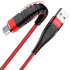 Phone Cable Micro USB Cables 1m 2m Hi-Tensile Nylon Charger Cord Data Sync Cords