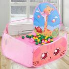Portable Baby Playpen Outdoor Indoor Ball Pool Toddlers Play Tent Three Colors $17.99 USD on eBay