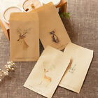 20PC Kraft Paper Favor Postcard Message Card Thank You Letter Paper Bag Envel IO
