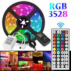 16FT 300 LED Flexible Strip Light SMD 3528 RGB Fairy Lights Room TV Party Bar