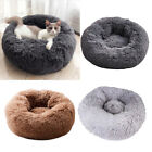 Pet Bed Pillow Soft for Dog Snooze Slepping Donut Cushion Cuddler Washable