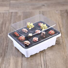 10 Pack Plant Tray Plant Germination Kit 12 Cells for Gardening Propagation