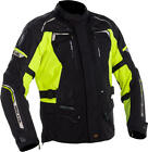 Richa Infinity 2 Jacket Black Fluo Textile Waterproof Motorcycle Jacket NEW
