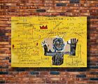 H248 20x30 24x36 Silk Poster Jean Basquiat Untitled Art Michel Print