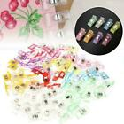 Plastic Holding Clip Set For Crafts Quilting Sewing Knitting Crochet Kits M9r9