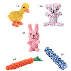 Pet Dog Safety Toys Bite-Resistant Puppy Chew Toys Knitted Toy Small Dogs Cute