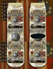 2nd Louisiana Cavalry American Civil War/War Between the States crew socks