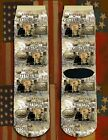 Battle of Gettysburg American Civil War/War Between the States crew socks