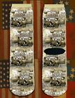 Battle of Shiloh American Civil War/War Between the States crew socks