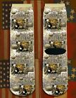 Battle of the Wilderness American Civil War/War Between the States crew socks
