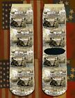 Battle of the South Mountain Civil War/War Between the States crew socks
