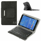 "For Universal 9.7"" 10"" 10.1"" Leather Case Wireless Keyboard Folding Stand Cover"