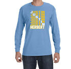 Los Angeles Chargers Justin Herbert Text Long sleeve shirt $19.99 USD on eBay