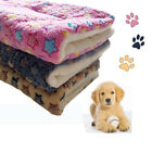 FM_ PET WASHABLE HOME BLANKET CATS DOG BED CUSHION MATTRESS KENNEL SOFT CRATE MA