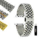 Stainless Steel Metal Watch Band Strap for Apple Watch 38mm 40mm 42mm 44mm