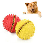 FM_ AM_ FT- CO_ Pet Dog Puppy Cat* Rubber Ball Chew Play Interactive Toys Traini