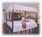 Hand Tied Bedding Canopy Top.  Flat Style.  image