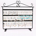 72 Holes Earrings Necklace Jewelry Display Rack Holder Stand Organizer USA