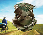 Multicam Camo Tactical Neck Gaiter Tube Face Cover Cycling Hunting Scarf Bandana