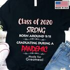 Class Of 2020 Strong Graduating During Classic T-Shirt image