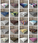 Ambesonne Wavy Abstract Flat Sheet Top Sheet Decorative Bedding 6 Sizes