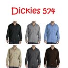 Kyпить New Dickies 574 Mens Long Sleeve Shirt Button Front Formal Work Uniform 4 Colors на еВаy.соm