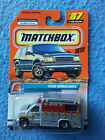 MATCHBOX Choose Your Die-Cast Vehicle 1999 New Sealed