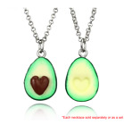 Avocado Couples Friendship Necklace Best Cute Gift Funny Anniversary Pendant Bff