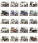 Ambesonne Printed Quilted Bed Cover Set Decorative Coverlet Bedspread image